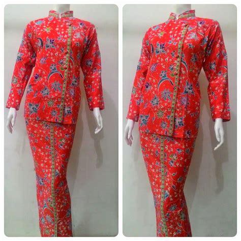 baju batik pramugari motif melati batik bagoes solo