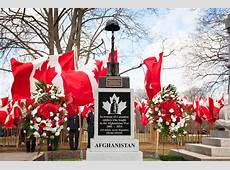 Afghanistan War Memorial unveiled in Woodstock CityNews