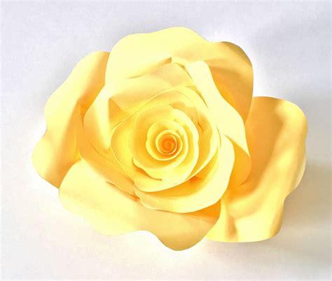 diy paper roses   printable template