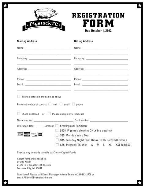 registration form template peerpex