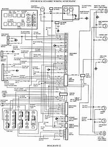 1992 Buick Lesabre Schematic Wiring Diagrams