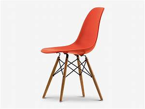 Vitra Eames Chair : buy the vitra dsw eames plastic side chair golden maple ~ A.2002-acura-tl-radio.info Haus und Dekorationen