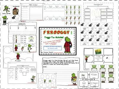 froggy stuff printables worksheets images common core
