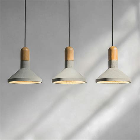 Concrete Pendant Light  Such & Such  Such & Such