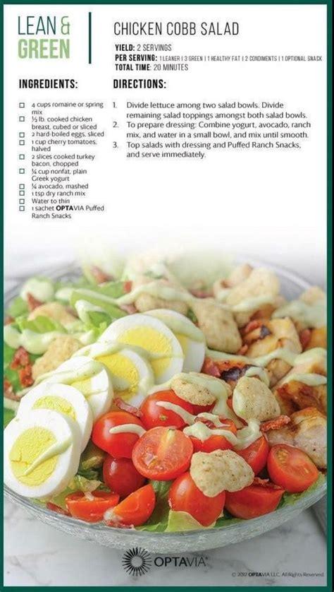 love salad  chicken cobb salad   great lean