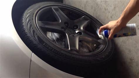 plasti dip painting wheels  acura tl youtube