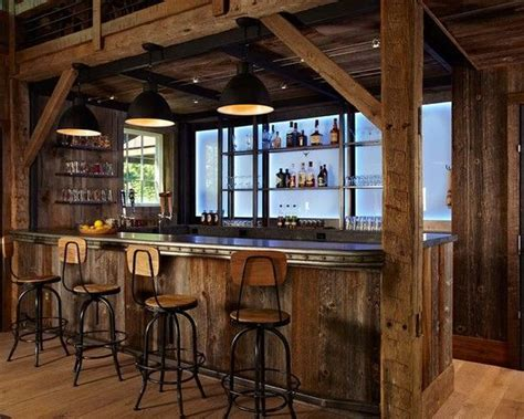 Rustic Home Bar by Rustic Home Bar Furniture Ideas For The House