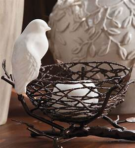 ceramic bird nest candle holder contemporary With kitchen cabinets lowes with bird nest candle holder