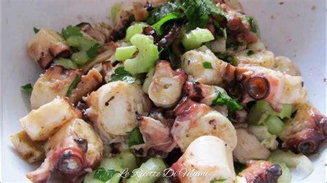 polpo insalata sedano il 249 di natale antipasto insalata di polpo e sedano