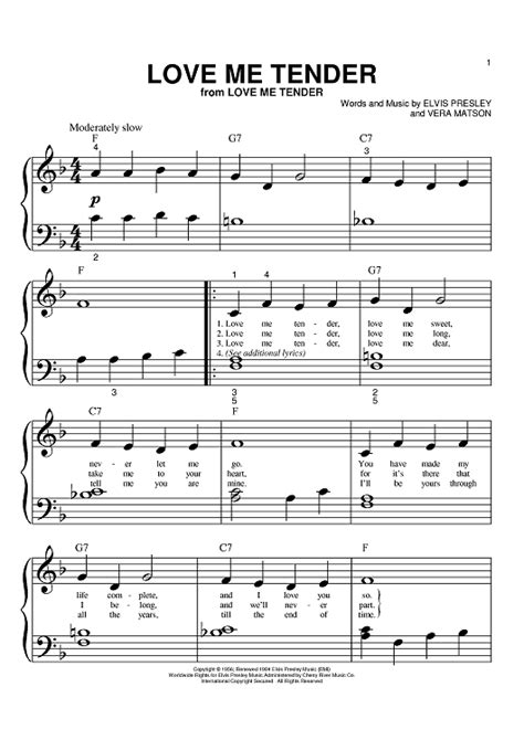 Unique Love Me Tender Chords Collection - Song Chords Images - apa ...