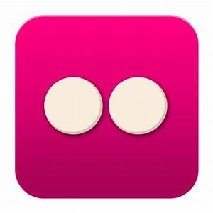 Flickr Icon - Flat Social Media Icons - SoftIcons.com