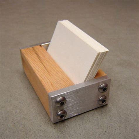 wooden business card holder for desk wooden business card holder for desk card design ideas