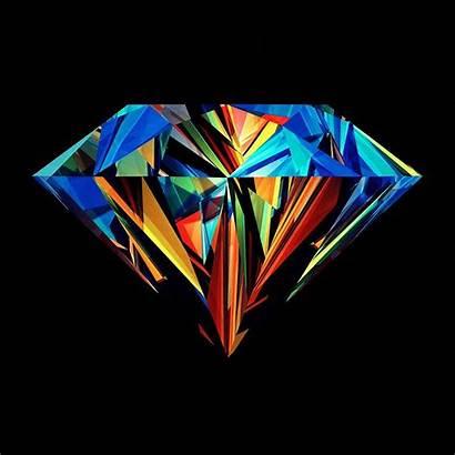 Abstract Diamond Modern Multi Artwork