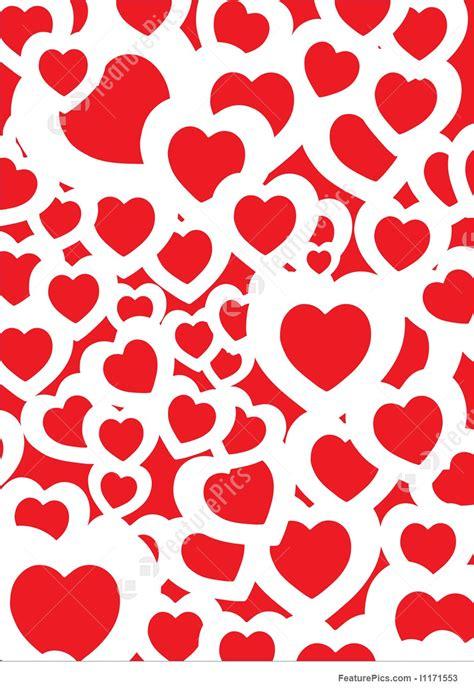 Holidays: Love Background Red - Stock Illustration