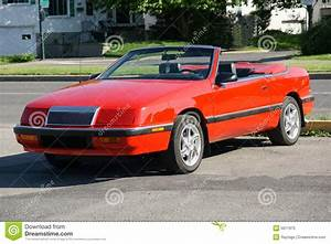 Chrysler Lebaron Convertible Stock Image