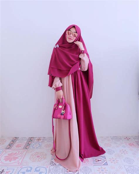 gambar baju gamis baju muslim baju gamis fashion selia flower orange m 17 trend baju muslim terbaru 2017 yang akan populer