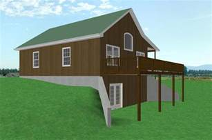a frame house plans with basement small country cabin house plan cabin with walkout