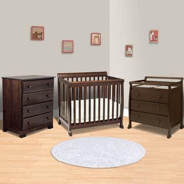 mini crib with changing table da vinci 3 nursery set kalani mini crib 3 drawer