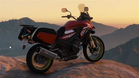 Modification Honda Cb500x by Gta 5 2018 Honda Cb500x Add Ons Tuning Mod Gtainside