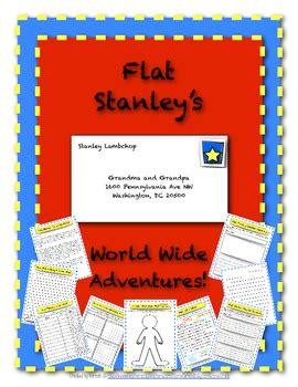 flat stanley letter writing project lots  bonus