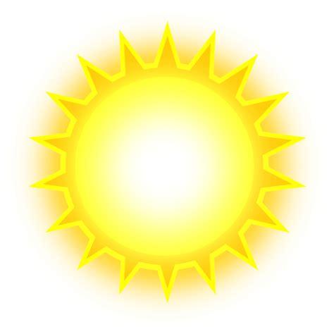 Sun Clipart Bright Sun Clipart