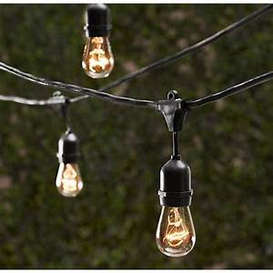 Outdoor Decorative Patio String Lights - 48 FT Long