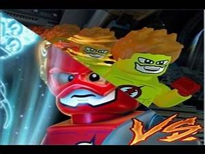 THE Flash VS kid Flash LEGO BATMAN 3 - YouTube