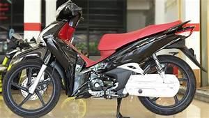Honda Wave 125 Black Red
