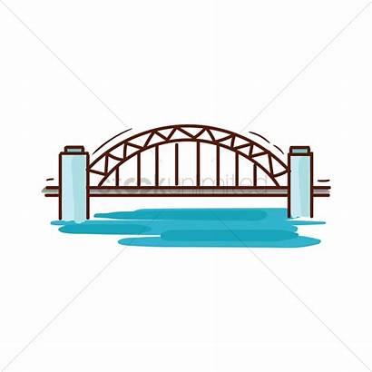 Bridge Harbour Sydney Clipart Vector Clip Svg