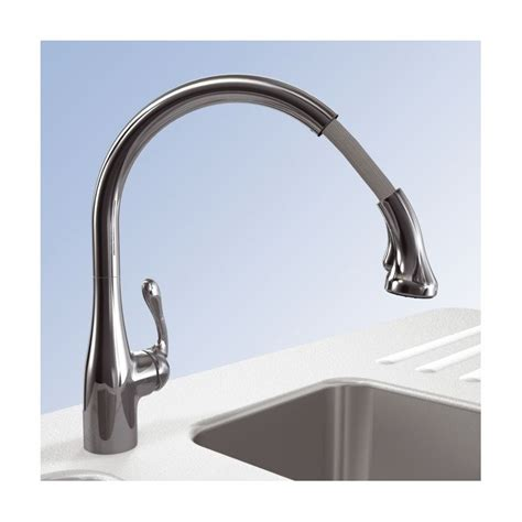 hansgrohe allegro e kitchen faucet faucet 04066000 in chrome by hansgrohe