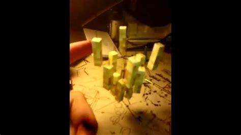 stand  minecraft papercraft blaze