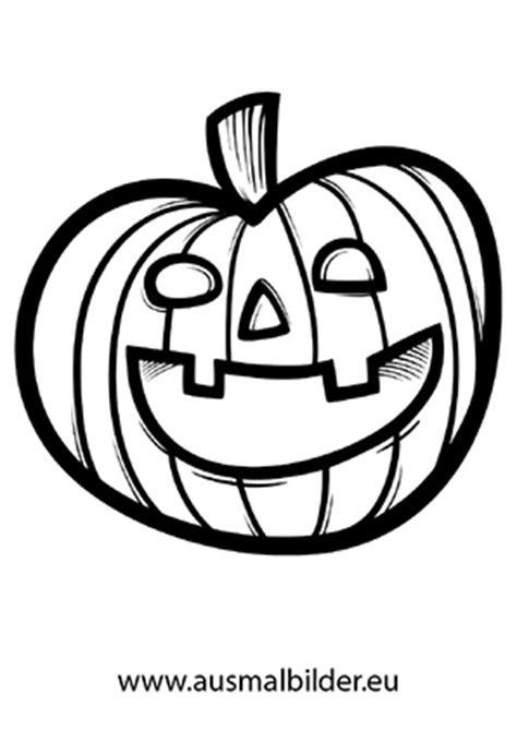 Lustiger Kürbis  Halloween ausdrucken
