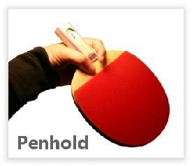 table tennis types  grips