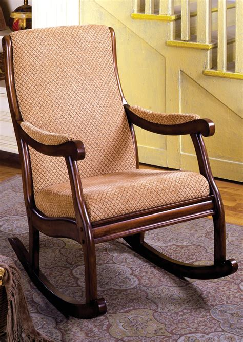 Liverpool Traditional Antique Oak Rocking Chair With