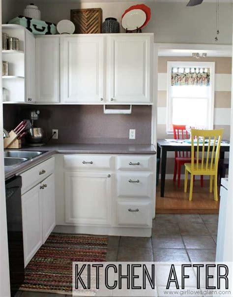 painting kitchen cabinet hardware how to paint cabinets and add hardware kitchen makeover 4022