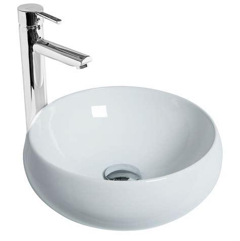 discac salle de bain vasque poser ronde galet discac
