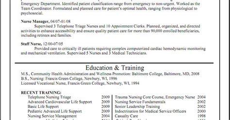 Triage Rn Resume by Triage Resume Sle Http Www Resumecareer Info
