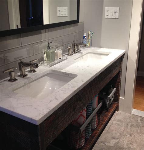 Bathroom Sink Backsplash Pictures Smoke 4x12 Bathroom