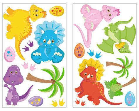 Wandtattoo Kinderzimmer Junge Dinosaurier by 19 Teiliges Dinosaurier Wandtattoo Set Dino M 228 Dchen Jungen
