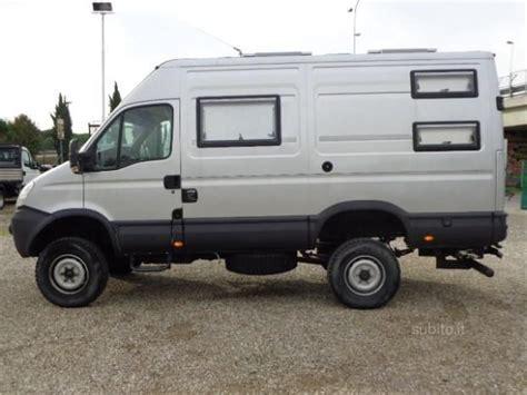 Iveco Daily 55s18 4x4 Camper Vas Caravan E Camper Usati In