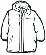 Coat Winter Coloring Clothes Pages Jacket Clipart Line Draw Thick Clip Clothing Coats Drawing Snow Colour Clipartmag Cliparts Denenecek January sketch template