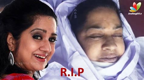 actress lakshmi funeral actress kalpana passes away video from apollo hospital