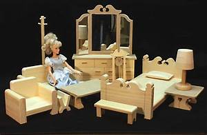 Two Room Barbie ® House & Furniture Woodworking Plans