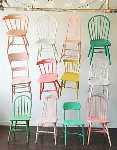 Holz Lack Pastell : st hle in farbe kolorat lack streichen interieur ~ Michelbontemps.com Haus und Dekorationen