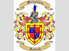 Montgomery Family Crest from Scotland by The Tree Maker
