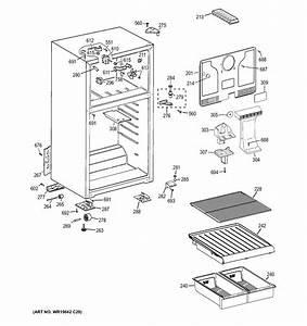 Cabinet Diagram  U0026 Parts List For Model Hts18bbejrww