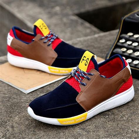 the new 2015 low tide youth s color sneakers thick soles sports han edition ventilation