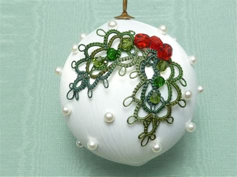 60 best tatted ornaments images on pinterest tatting