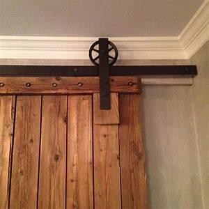 Winsoon 5 18ft sliding barn door hardware double doors for 11 foot barn door track