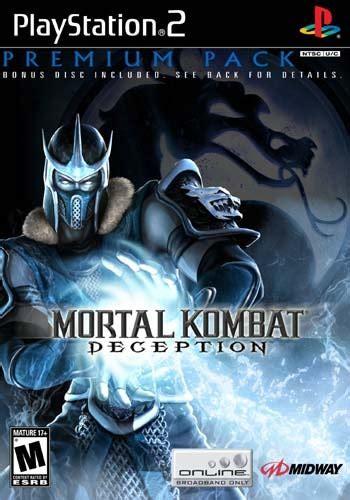 mortal kombat deception premium pack playstation  ign